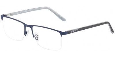 Dioptrické brýle Jaguar model 33595, barva obruby modrá mat, stranice šedá mat, kód barevné varianty 1140.