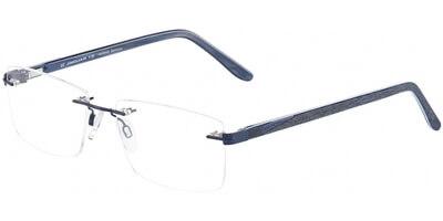 Dioptrické brýle Jaguar model 33596, barva obruby modrá mat, stranice šedá mat, kód barevné varianty 1140.