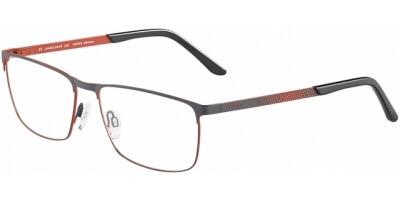Dioptrické brýle Jaguar model 33598, barva obruby šedá oranžová mat, stranice šedá oranžová mat, kód barevné varianty 1168.