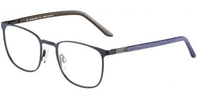 Dioptrické brýle Jaguar model 33600, barva obruby černá modrá mat, stranice modrá mat, kód barevné varianty 1185.