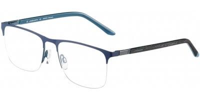 Dioptrické brýle Jaguar model 33602, barva obruby modrá mat, stranice černá mat, kód barevné varianty 1188.