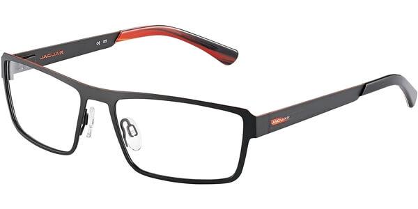 Dioptrické brýle Jaguar model 33807, barva obruby černá mat, stranice černá mat, kód barevné varianty 610.