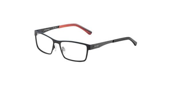 Dioptrické brýle Jaguar model 33810, barva obruby černá mat, stranice černá šedá mat, kód barevné varianty 610.