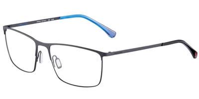 Dioptrické brýle Jaguar model 33820, barva obruby šedá mat, stranice šedá mat, kód barevné varianty 1040.