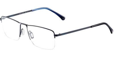 Dioptrické brýle Jaguar model 33832, barva obruby modrá mat, stranice modrá mat, kód barevné varianty 1080.
