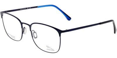 Dioptrické brýle Jaguar model 33836, barva obruby černá mat, stranice černá mat, kód barevné varianty 3100.