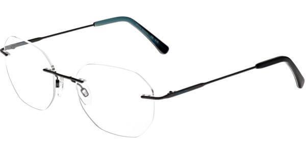 Dioptrické brýle Jaguar model 33839, barva obruby černá mat, stranice černá mat, kód barevné varianty 4200.