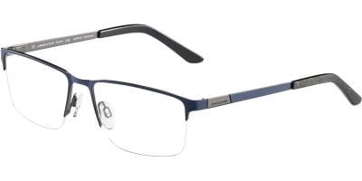 Dioptrické brýle Jaguar model 35048, barva obruby modrá mat, stranice modrá černá mat, kód barevné varianty 3100.