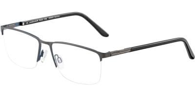 Dioptrické brýle Jaguar model 35050, barva obruby šedá mat, stranice černá lesk, kód barevné varianty 1097.