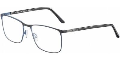 Dioptrické brýle Jaguar model 35053, barva obruby černá modrá mat, stranice černá mat, kód barevné varianty 1128.