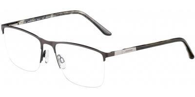 Dioptrické brýle Jaguar model 35055, barva obruby hnědá mat, stranice hnědá lesk, kód barevné varianty 1190.