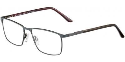 Dioptrické brýle Jaguar model 35056, barva obruby šedá mat, stranice hnědá lesk, kód barevné varianty 1191.