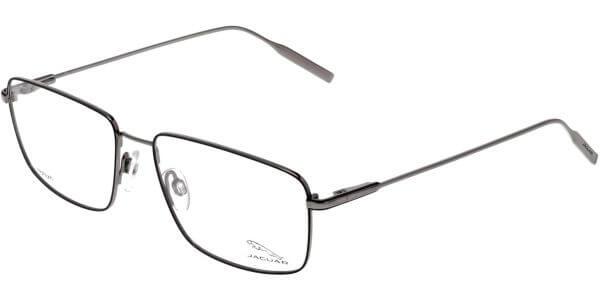 Dioptrické brýle Jaguar model 35061, barva obruby černá šedá lesk, stranice šedá mat, kód barevné varianty 6500.