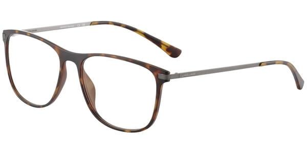 Dioptrické brýle Jaguar model 36801, barva obruby hnědá mat, stranice hnědá mat, kód barevné varianty 8940.