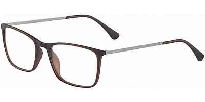 Dioptrické brýle Jaguar model 36802, barva obruby hnědá mat, stranice šedá mat, kód barevné varianty 5100.