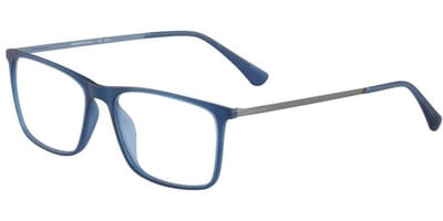 Dioptrické brýle Jaguar model 36803, barva obruby modrá mat, stranice šedá mat, kód barevné varianty 3100.