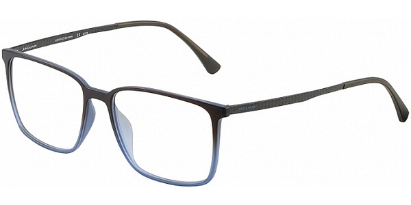Dioptrické brýle Jaguar model 36804, barva obruby hnědá modrá mat, stranice hnědá mat, kód barevné varianty 5100.