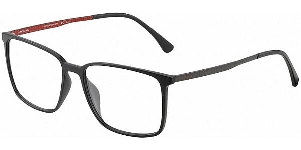Dioptrické brýle Jaguar model 36804, barva obruby černá mat, stranice černá mat, kód barevné varianty 6100.