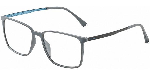 Dioptrické brýle Jaguar model 36804, barva obruby šedá mat, stranice šedá modrá mat, kód barevné varianty 6500.