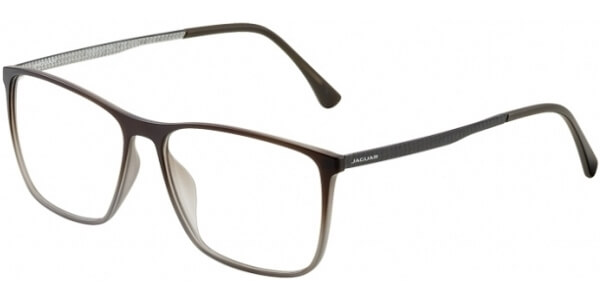 Dioptrické brýle Jaguar model 36805, barva obruby šedá hnědá mat, stranice šedá mat, kód barevné varianty 5100.