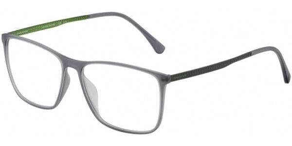 Dioptrické brýle Jaguar model 36805, barva obruby šedá mat, stranice šedá zelená mat, kód barevné varianty 6500.