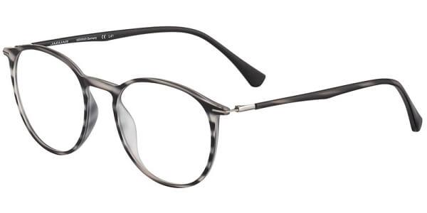 Dioptrické brýle Jaguar model 36808, barva obruby černá šedá mat, stranice černá šedá mat, kód barevné varianty 6101.