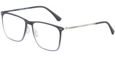 Dioptrické brýle Jaguar model 36810, barva obruby hnědá modrá mat, stranice šedá modrá mat, kód barevné varianty 5100.