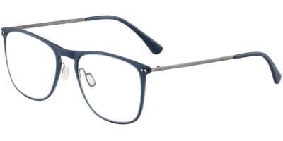 Dioptrické brýle Jaguar model 36811, barva obruby modrá mat, stranice šedá mat, kód barevné varianty 3100.