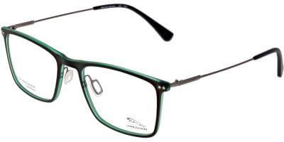 Dioptrické brýle Jaguar model 36819, barva obruby šedá zelená mat, stranice šedá mat, kód barevné varianty 4100.