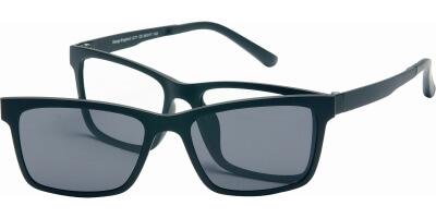 Dioptrické brýle London Club model 11, barva obruby černá mat, stranice černá mat, kód barevné varianty C5.
