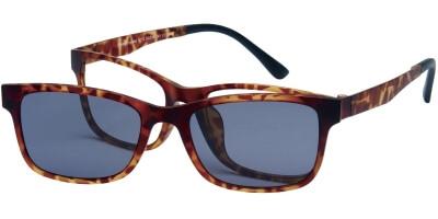 Dioptrické brýle London Club model 12, barva obruby hnědá mat, stranice hnědá mat, kód barevné varianty C3.