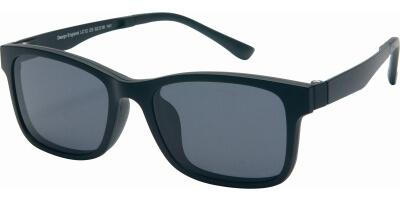 Dioptrické brýle London Club model 12, barva obruby černá mat, stranice černá mat, kód barevné varianty C5.