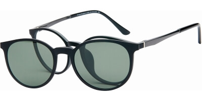 Dioptrické brýle London Club model 39, barva obruby šedá mat, stranice šedá mat, kód barevné varianty C3.