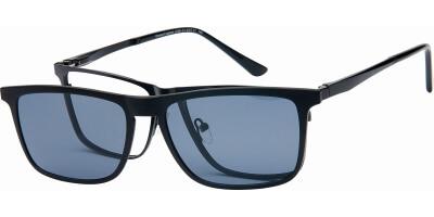 Dioptrické brýle London Club model 40, barva obruby černá mat, stranice černá mat, kód barevné varianty C1.