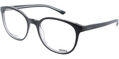 Dioptrické brýle MEXX model 2401, barva obruby černá čirá lesk, stranice černá čirá lesk, kód barevné varianty 100.