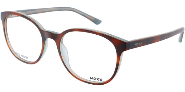 Dioptrické brýle MEXX model 2401, barva obruby hnědá lesk, stranice hnědá lesk, kód barevné varianty 300.