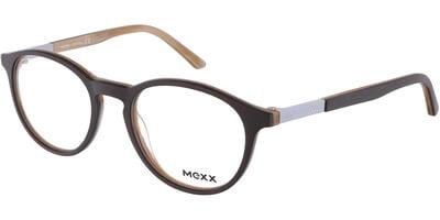Dioptrické brýle MEXX model 2507, barva obruby hnědá mat, stranice hnědá mat, kód barevné varianty 400.