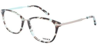 Dioptrické brýle MEXX model 2509, barva obruby zelená hnědá lesk, stranice stříbrná mat, kód barevné varianty 100.