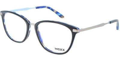 Dioptrické brýle MEXX model 2509, barva obruby modrá stříbrná lesk, stranice stříbrná mat, kód barevné varianty 300.