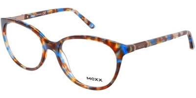 Dioptrické brýle MEXX model 2510, barva obruby hnědá modrá lesk, stranice hnědá modrá lesk, kód barevné varianty 200.