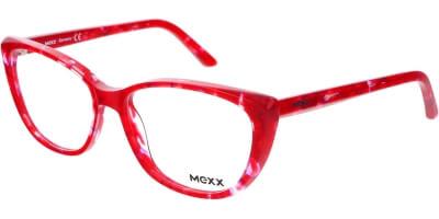 Dioptrické brýle MEXX model 2514, barva obruby červená lesk, stranice červená lesk, kód barevné varianty 200.