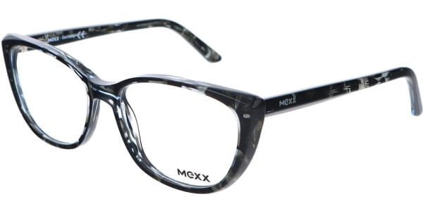 Dioptrické brýle MEXX model 2514, barva obruby černá čirá lesk, stranice černá čirá lesk, kód barevné varianty 400.