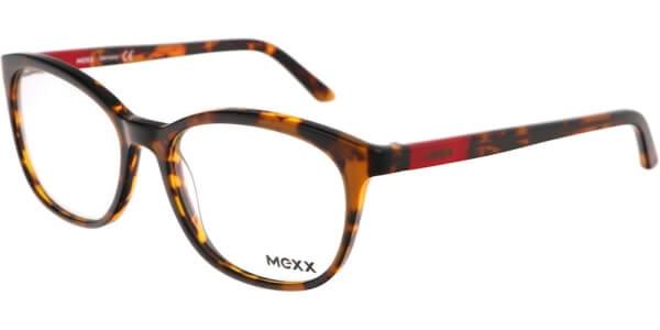Dioptrické brýle MEXX model 2517, barva obruby hnědá lesk, stranice hnědá červená lesk, kód barevné varianty 200.
