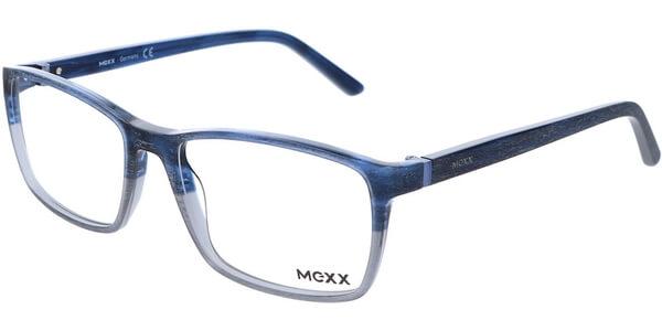 Dioptrické brýle MEXX model 2518, barva obruby modrá šedá mat, stranice modrá šedá mat, kód barevné varianty 400.