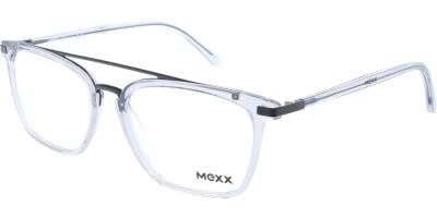 Dioptrické brýle MEXX model 2521, barva obruby čirá lesk, stranice čirá lesk, kód barevné varianty 300.