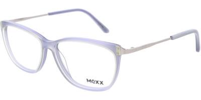 Dioptrické brýle MEXX model 2524, barva obruby šedá mat, stranice stříbrná lesk, kód barevné varianty 400.