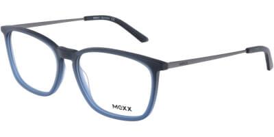 Dioptrické brýle MEXX model 2528, barva obruby modrá mat, stranice šedá mat, kód barevné varianty 100.