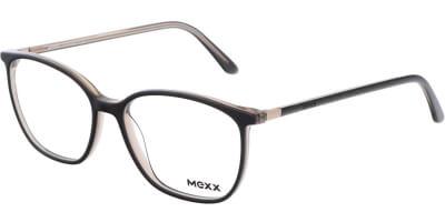 Dioptrické brýle MEXX model 2530, barva obruby hnědá čirá lesk, stranice hnědá čirá lesk, kód barevné varianty 100.