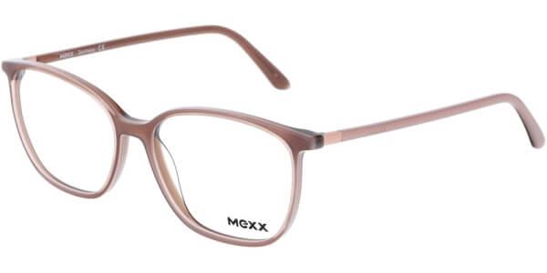 Dioptrické brýle MEXX model 2530, barva obruby hnědá lesk, stranice hnědá lesk, kód barevné varianty 400.