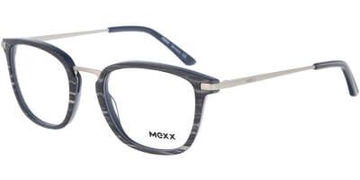 Dioptrické brýle MEXX model 2532, barva obruby modrá hnědá mat, stranice hnědá lesk, kód barevné varianty 200.